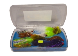 Bass fly assortment for sale