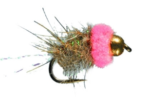 Pink Squirrel Fly for Trout