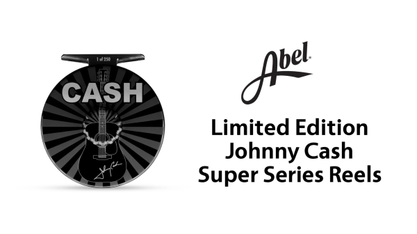 Abel Limited Edition Johnny Cash Fly Reels