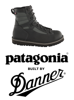 Patagonia Danner Foot Tractor Sticky Rubber Wading Boots for Sale