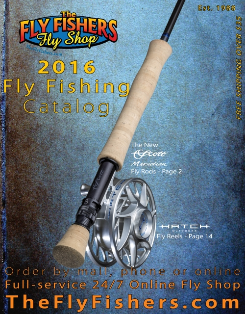 The Fly Fishers Fly Shop fly fishing products catalog