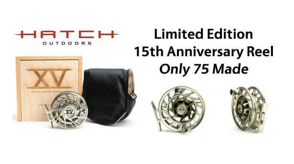 Hatch 15th Anniversary Limited Edition Fly Reel