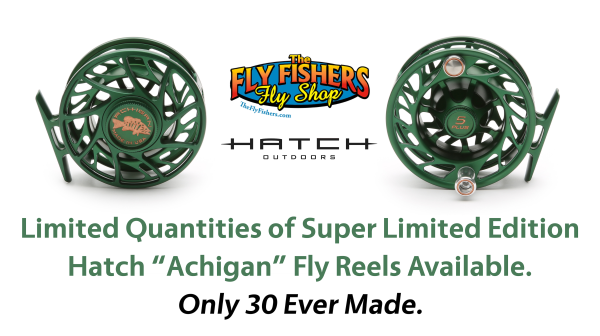 Hatch Achigan Fly Reel