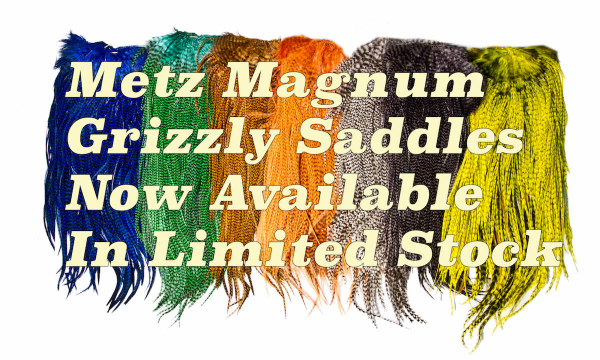 Metz Magnum #2 Grizzly Saddles