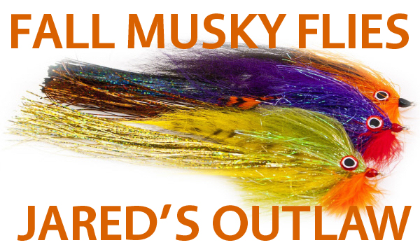 Jared's Outlaw Musky Flies
