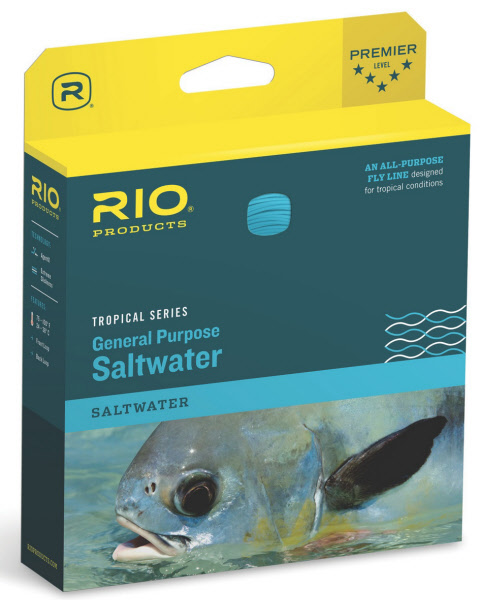 RIO Tropical Intermediate General Purpose Saltwater Fly Line
