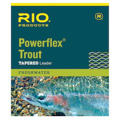 RIO 9 Powerflex Trout Knotless Leader 3 Pack