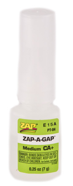 Zap A Gap 1/4 oz. Blister Pack
