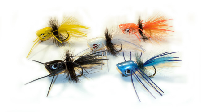 Boogle bug popper the fly fishers fly shop milwaukee for Fly fishing poppers