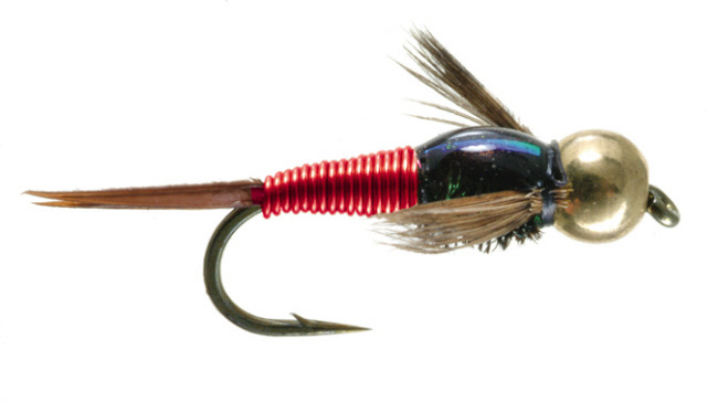 Copper John Barrs Nymph Trout Fly