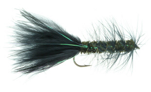 Flash-A-Bugger Streamer Fly