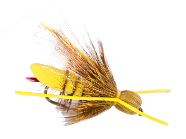 Bullethead Hopper Dry Fly for Trout