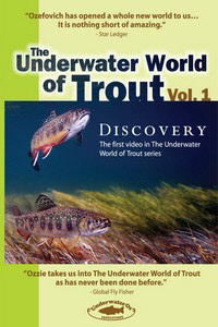 The Underwater World of Trout Vol. 1 Discovery DVD