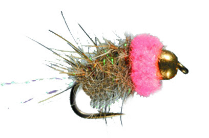 Bethke's Pink Squirrel - Fly Tying Material Package