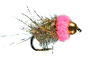 Bethkes Pink Squirrel Fly Tying Materials Kit Pattern Recipe