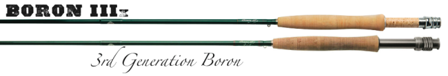 Winston Boron IIIX Fly Rods - 7-10 Weights