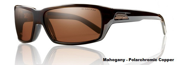 Smith Optics - Backdrop Polarized Sunglasses - Mahogany/Polarchromic Copper