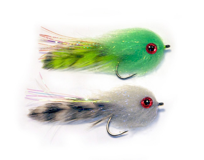Laser Minnow Pat Ehlers Bass Streamer Fly
