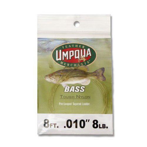 Umpqua Bass Leader 8
