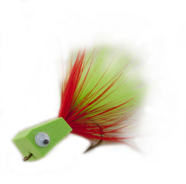 Blockhead Popper Holschlag Bass Fly