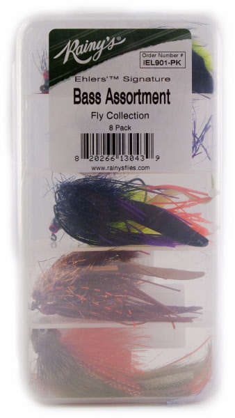 Pat Ehlers' Signature Bass Fly Assortment From Rainy's