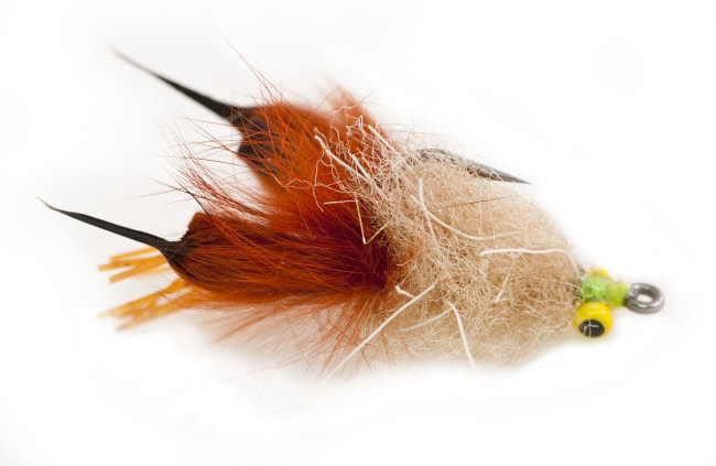 Alecs Marsh Munchie Fly Fishing Fly for Bass and Trout