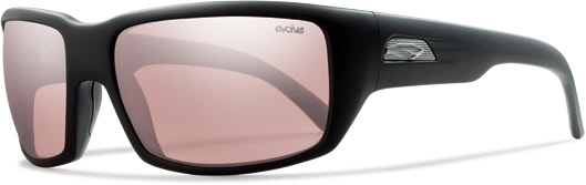 Smith Optics - Touchstone Polarized Sunglasses - Matte Black/Polarchromic Ignitor