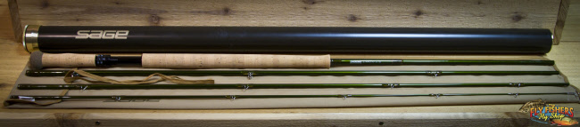 "Used Sage Z-Axis 9143-4 (9wt 14'3"" 4pc.) Two-Handed Fly Rod - SOLD"