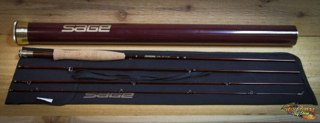 "Used Sage ZXL 580-4 (5wt. 8'0"" 4pc) Fly Fishing Rod  -  SOLD"