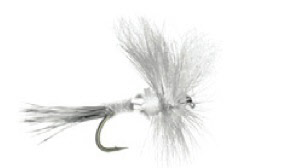White Wulff Trout Dry Fly