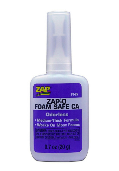 Zap Foam Safe Glue