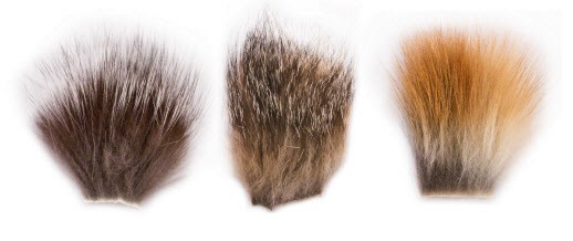 Fly tying fox Fur