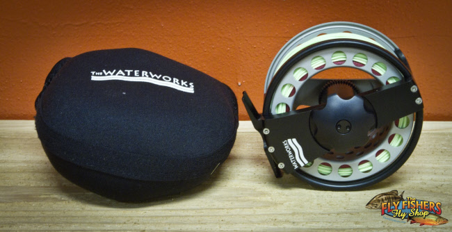 Used Waterworks Lamson ULA Force Saltwater Spey 3.3 Fly Fishing Reel - SOLD