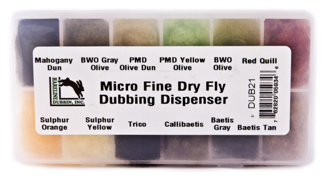Micro Fine Dry Fly Dub Dispenser
