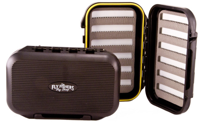 The Fly Fishers Waterproof Slotted Small Fly Box