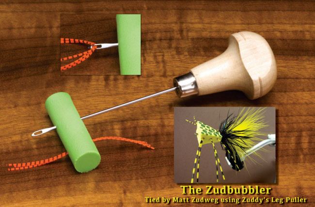 Zuddy's Leg Puller Bass Fly Tying Tool