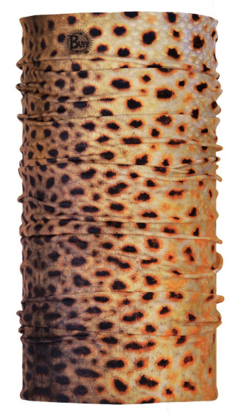 UV Buff Fish Graphics - Brown Trout