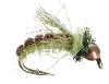 Copper Bead Z-Wing Caddis Nymph Fly