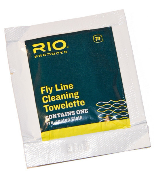 RIO Fly Line Cleaning Towelette