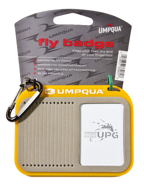 Umpqua UPG Fly Badge