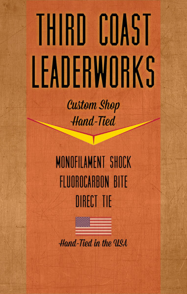 Third Coast Leaderworks Pike/Musky Fluorocarbon Leader