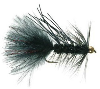 Gold Bead Rubber Leg Crystal Bugger Streamer Fly