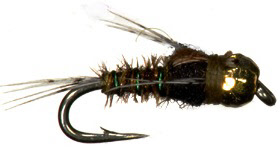Tungsten Baetis Nymph Trout Fly