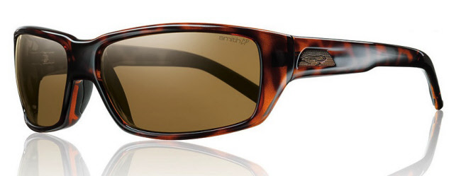 Smith Backdrop - Matte Tortoise/ChromaPop Polarized Brown