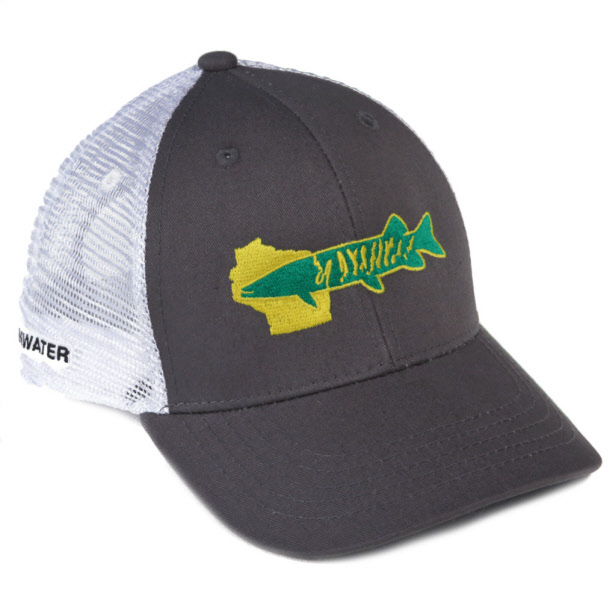 Rep Your Water Musky Hat - Wisconsin