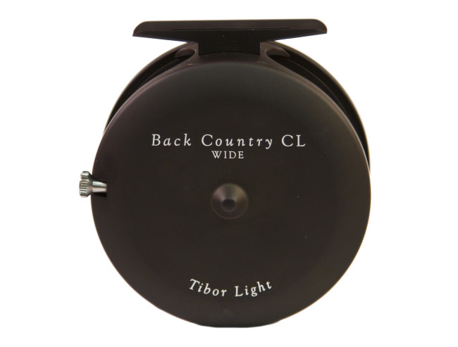 Tibor Back Country CL Fly Reel - Matte Black