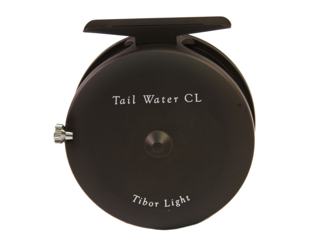 Tibor Tail Water CL Fly Reel - Matte Black