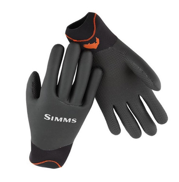 Simms exstream half finger glove the fly fishers fly for Cold weather fishing gloves
