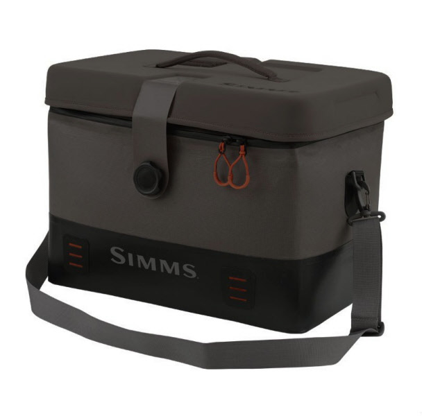 Simms dry creek boat bag large the fly fishers fly shop for Fly fishing luggage