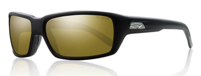 Smith Optics Backdrop - Matte Black/ChromaPop Polarized Bronze Mirror
